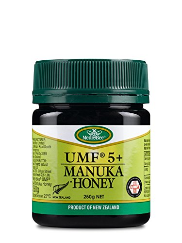Medibee UMF 5+ Manuka-Honig 250g - Nz Manukahonig Health