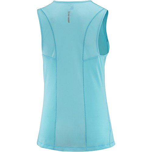 Tee-shirt Trail Runner Sleeveless Blue Bird Bleu