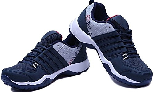 Ethics Perfect (CLYMB) Ultra Lite Sport Shoes for Men (9 UK/India, N. Blue)