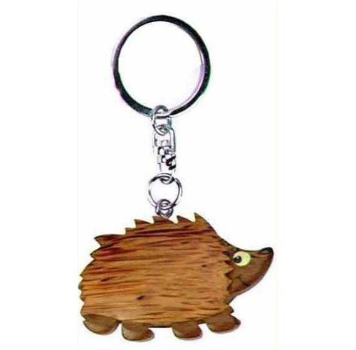 Porte-clés en forme de hérisson