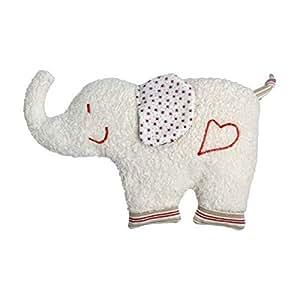 Efie Dinkelkorn-Wärmekissen Elefant, Material aus kontrolliert biologischem Anbau, 100% Made in Germany