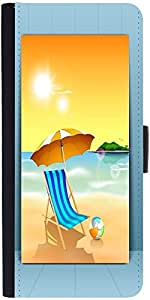 Snoogg Abstract Summer Background Designer Protective Back Case Cover For Asu...