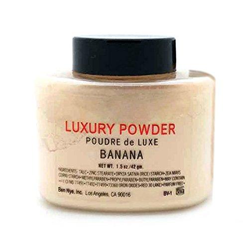 Maquillaje en polvos sueltos minerales control de aceite, larga duración, acabado sedoso, mate (translúcido) de Favolook.