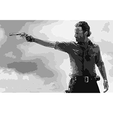 Walking Dead 28x 16dipinto a olio su tela ma Box Framing disponibili su richiesta, si prega di contattarci via email per dettagli. Molti Altri Walking Dead, disponibile anche come qualsiasi dimensione Desideri. Si prega di contattarci via email per dettagli. Zombie - Framing Olio Su Tela