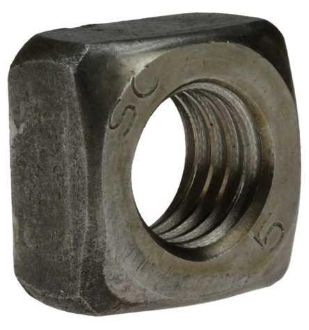 Reidl Vierkantmuttern M 12 DIN 557 5 blank 10 Stück