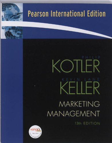 Marketing Management: International Version by Philip T. Kotler (2008-02-27)