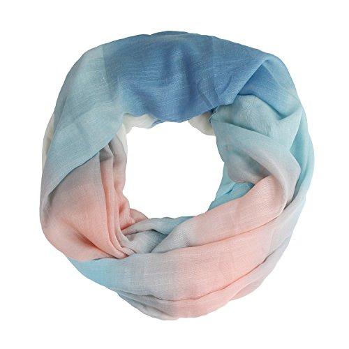 Glamexx24 Neue Kollektion Damen schal leichter Langschal Loop Schlauchschal Tuch Viele Farben 01386a6