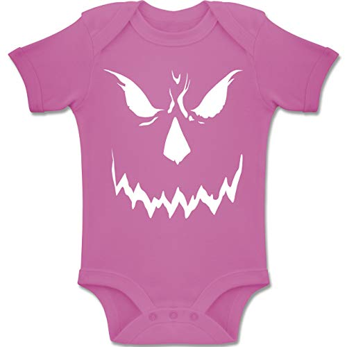 Shirtracer Anlässe Baby - Scary Smile Halloween Kostüm -