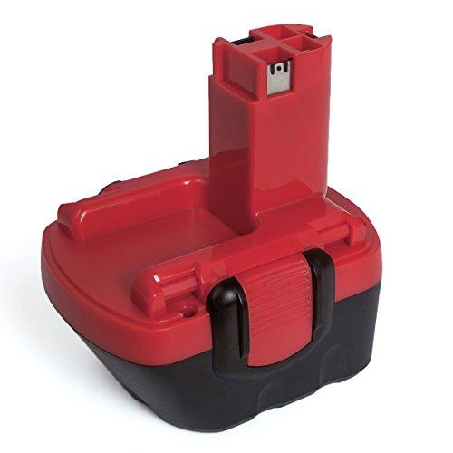 Preisvergleich Produktbild FLAGPOWER 12V 2.0Ah Werkzeug Akku für Bosch Bosch 26073 35249 BAT043, BAT045, BAT046, BAT049, BAT120, BAT139 12V 2000mAh Ni-CD Batterie