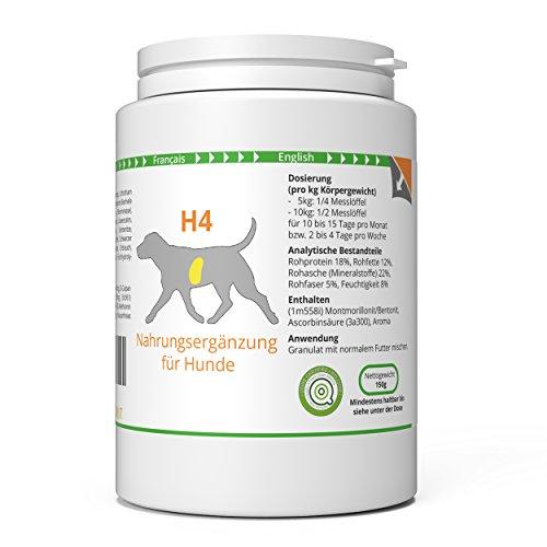 ww7 H4 | Diät & Organ Formel Hunde | 150g Natürliches Premium Granulat (Mariendistel Bockshornklee)