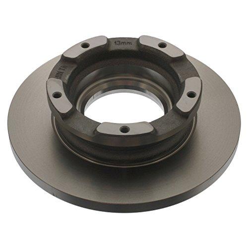 Preisvergleich Produktbild febi bilstein 40783 Bremsscheibensatz mit ABS-Impulsring (hinten, 2 Bremsscheiben)