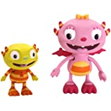 Henry Hugglemonster Summer and Ivor Figurine Set