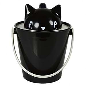 United Pets Crick Boîte pour Croquette pour Chien Noir