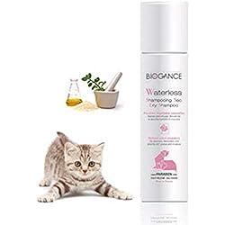 Biogance BGWC Katzen Reinigung, Trockenshampoo, 150 ml