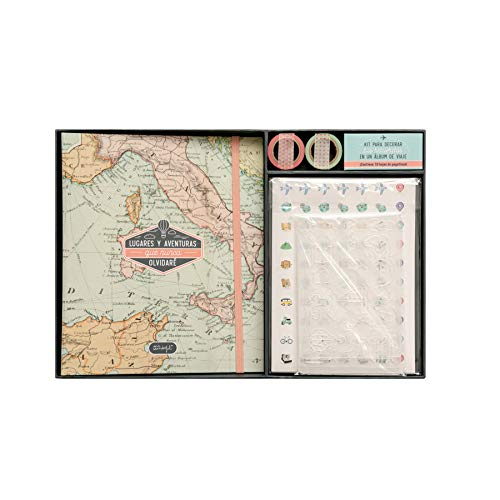 Mr. Wonderful Kit Scrapbooking álbum Viaje-Lugares