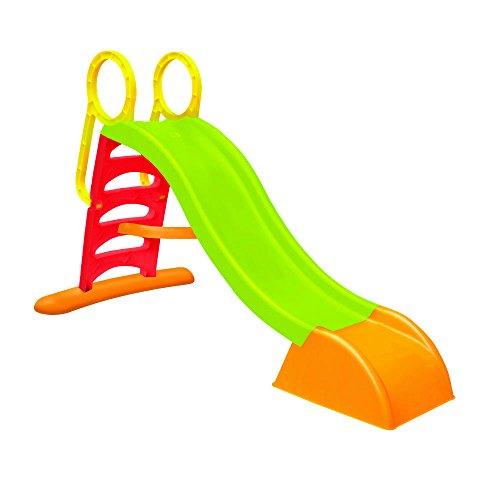 Scivolo 5 gradini, scivolo in plastica, scivolo con innesto acqua 180x78x110, scivolo per bambini, scivolo bambini, scivolo giardino, scivolo con solida struttura in plastica.