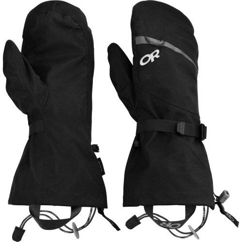 Outdoor Research Mt Baker Modular Ski Mitts X Large Black -