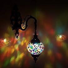 de TURQUÍA Marroquí Estilo Mosaico Lámpara de Pared Lámpara - Vendedor GB _ MC3 _ Individual