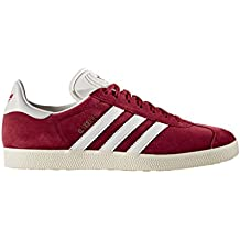Chaussures adidas - Gazelle, collegiate burgundy/white/gold metallic, 42 2/