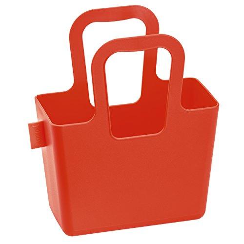 Koziol tasche taschelini, Plastica, Powder Blue, 7.8x 16.1x 18.3cm, Plastica, Verde senape, 78x161x183 cm arancione/rosso