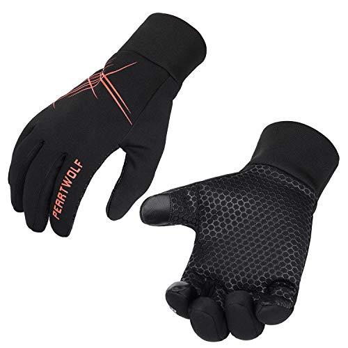 Petrunup Running-Gloves-Touchscreen Womens Womens