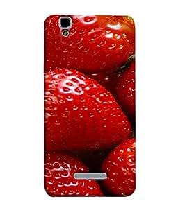 PrintVisa Designer Back Case Cover for YU Yureka :: YU Yureka AO5510 (Citrus Fruits Berries Sweet)