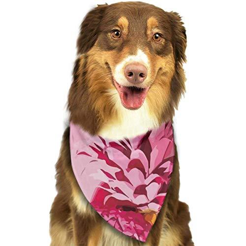 le Fashion Dog Bandana Pet Accessories Easy Wash Scarf ()