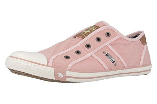 Mustang 1099401.0, Baskets mode femme Rose