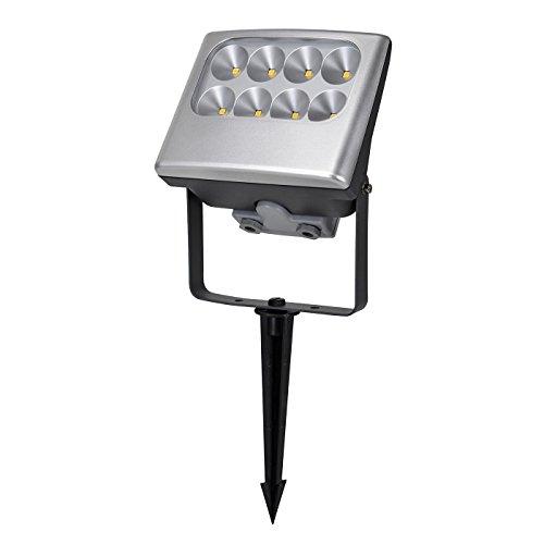 Negara Aluminium LED-Flutlicht auf einem Spike