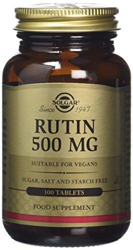 Solgar 500 mg Rutin Tablets - 100 Tablets Test