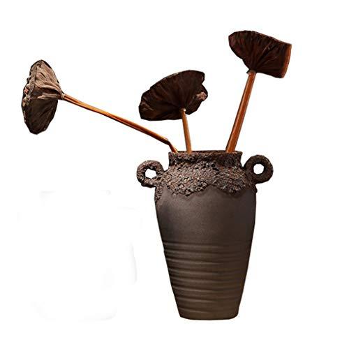 Vases LXF Main Fait Main créatif en céramique Salon Armoire à vin Porche décoration Table à Manger Bureau Bar décorations rétro (ce Produit ne Vend Que des (Taille : B)
