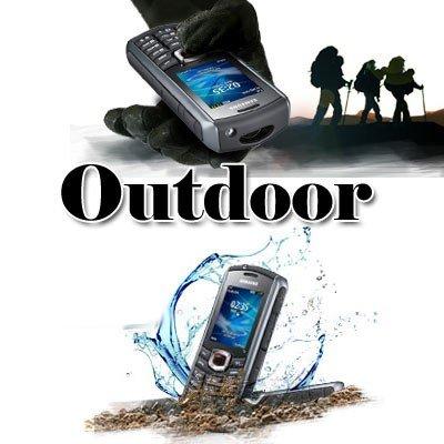 Samsung GT-B2710 Outdoor Handy, WEDGE, 2.0' QVGA LCD, 2MP Camera, Bluetooth 2.1, USB 2.0, Torch Light, DigitalCompass