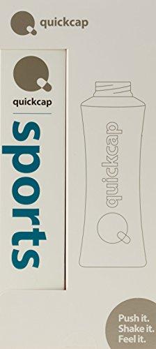 Quickcap Sports für Ausdauer/ Leistungsfähigkeit | Elektrolyte Drink | Wissenschaftlich formuliertes Nahrungsergänzungsmittel | Calcium, Magnesium, Kalium, Natrium, L-Carnitin, Coenzym Q10.