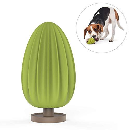 PETKIT Hund Kauspielzeug, Naturkauschuk Hundespielzeug Kugel Robust für Hunde und Welpen, Fashion und Leicht zu Aufbewahrung