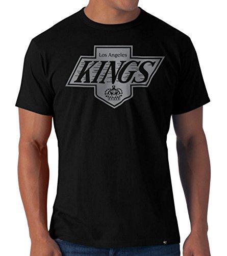 Nhl Vintage Hockey Jersey (47 Brand NHL T-Shirt Los Angeles Kings Vintage Frozen Rope schwarz Eishockey (S))