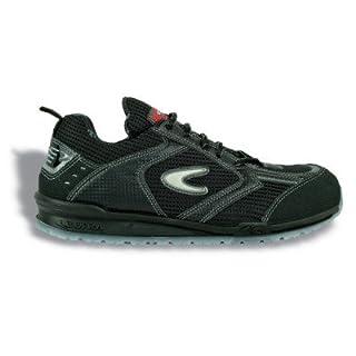 Cofra Sicherheitsschuhe S1P Petri Running sportliche Halbschuhe, Große 45, schwarz, 78450-002