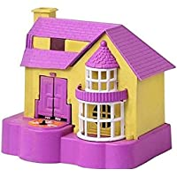 T.N Puppy House Dog Coin Stealing Puppy House Piggy Bank for Kids House of Puppy Coin Collecting Money Bank-pink