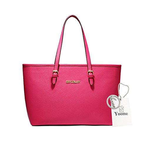 Sacchetti di affari di Yoome per le borse della borsa della borsa delle donne Borse universali per le borse delle borse delle donne per le ragazze - azzurro Rosa