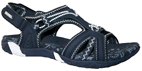 Ladies Northwest Adventure Walking Velcro Sports Walking Sandals Sizes 3 4 5...