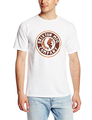Brixton Herren T-Shirt Rival White