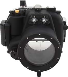 Polaroid Boîtier étanche sous-marin SLR agréé pour la plongée, pour le Canon T2I avec un objecfit 18-55mm