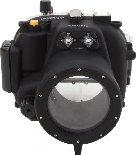 Polaroid SLR Dive Unterwassergehäuse für Canon T3I mit 18-55 mm Objektiv Ikelite Port