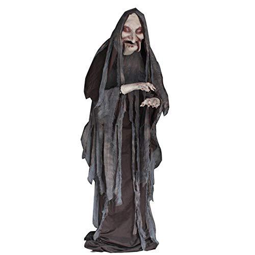 Kostüm Aufblasbare Puppe Weibliche - MTSBW Halloween Lift Hexe Heimtückische Unheimliche Requisiten Sprachsteuerung Weibliche Spukhaus Bar Party Veranstaltungsort Atmosphäre Dekoration