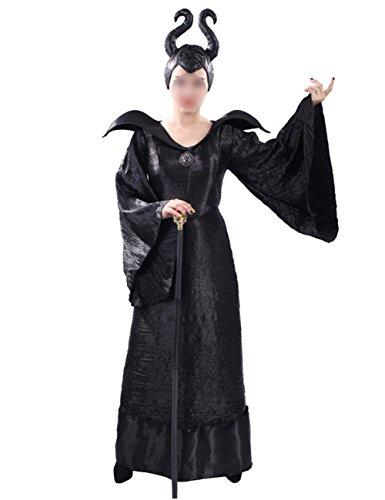 THEE Hexenkostüm Hexe Kostüm Halloween Cosplay Karneval Fasching -