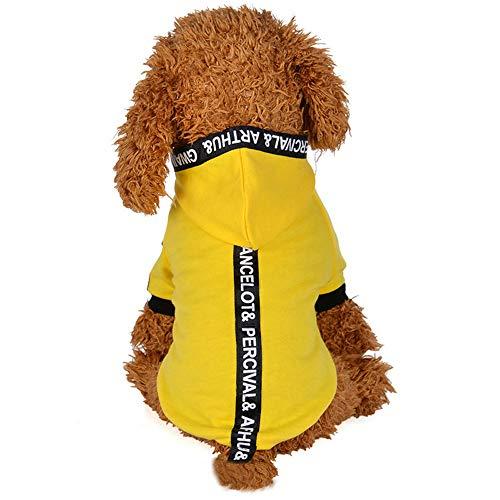 kleidung Haustier Hund Katze Bandjacke mit Hut Hundekostümen Haustier Kleidung Cute Hündchen Hoodies Haustierpullover Kleiner Hund Hundeshirts Sweatshirt ()