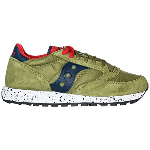 Saucony Sneakers Jazz in Camoscio e Nylon 11,5