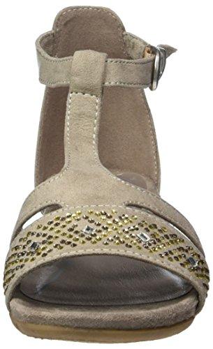 Marco Tozzi Damen 28105 Offene Sandalen mit Keilabsatz Beige (TAUPE 341)