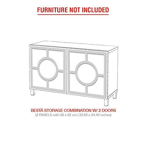 Moonwallstickers.com IKEA Besta Kits - Juego de Adhesivos para Muebles IKEA BESTA,...