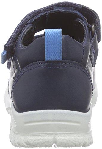 Ecco ECCO PEEKABOO, Sandales premiers pas bébé garçon Bleu - Blau (MARINE/MARINE50595)