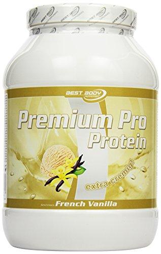 Best Body Nutrition Premium Pro Protein, French Vanilla, 750 g Dose -